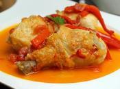 Pollo chilindrón Receta tradicional