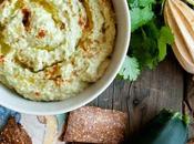 Hummus calabacín aguacate