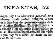 Madrid, años atrás. Sesión inaugural Institución Libre Enseñanza