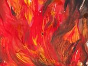 #InkToberspain2016 ...De retos, tintas, imaginación, liberación disfrute... #reto Burn