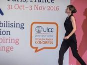 Dña. Letizia, look celebrity, Congreso Mundial Cáncer, París