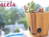 DIY: cesta maceta