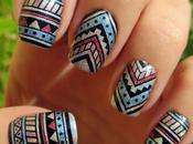 Tribal manicure