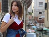 Vestido terciopelo rojo Zara