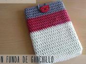 Patrón gratuito: funda ganchillo Free pattern: crochet cover