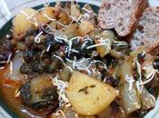 Acelgas patatas tomates Bietole patate pomodori