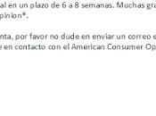 Comprobante pago american consumer
