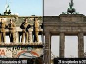 Historia reciente: noviembre 1.989 destruido Muro Berlín.