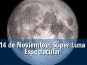 Súper luna llena, grande, brillante poderosa