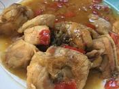 Pollo guisado verduras