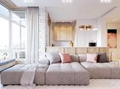 House tour: apartamento moderno rosa empolvado