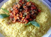 Cuscús vegetariano Cous cous verduras salteadas alle verdure saltate