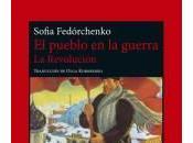 Libro revolución» Sofia Fedórchenko solodelibros