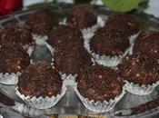 Trufas avellanas chocolate