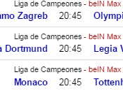Champions, Europa League Ligas line horarios. Noviembre 2016