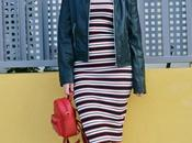 Maxi vestido rayas