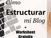 Cómo estructurar blog