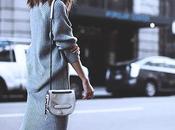 Seasonal trend; knit oversize dresses.-