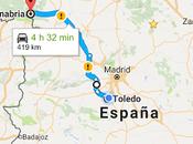 Ruta desde Toledo hasta Puebla Sanabria lago.