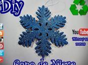 Diy. Copo Nieve Reciclando. Mirna manus