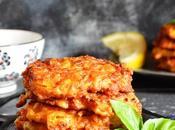 Tortitas patata, zanahoria calabacín