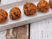 Snack Saludable: Trufas Zanahoria almendras