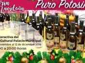 Invitan apoyar productos locales Feria Navideña Puro Potosino