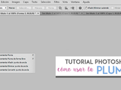 Tutorial Photoshop: Pluma