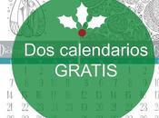 calendarios DICIEMBRE gratis