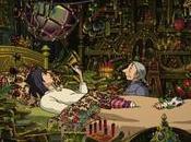 Escenarios Ghibli: habitación Howl, castillo ambulante'