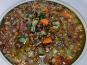 Sopa soja verde verduras Receta sopa judías mungo Zuppa soia