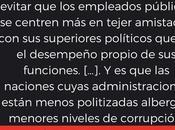 Frase sobre politización Administración Pública