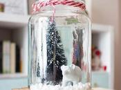 navidad tarros cristal