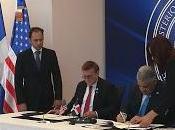 firman acuerdo autorización aduanal transporte aéreo
