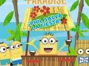 """Minions paradise ¡Phil salva fiesta!"""
