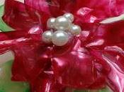 Como hacer flor navidad, pascua, pascuero, poinsetia, refresco