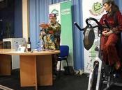Entrevista sobre bicicleta Donantes Risas Pilar BASELGA