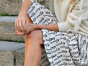 vestido blanco jersey mini flecos botín.