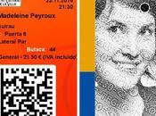 Concierto Madeleine Peyroux Trio. Fernán Gómez Centro Cultural Villa. Madrid, 23-XI-2016