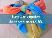 Envolver regalos forma sostenible Sustainable gift wrapping