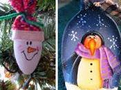 lindos adornos navideños cucharas cocina