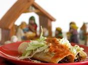 Tacos dorados carne salsa chipotle