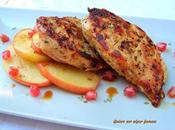 Pollo marinado hierbas aromáticas