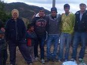 primer viaje Cañaris llevando ayuda humanitaria Cascos Amarillos