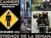 Estrenos Semana Diciembre 2016 Podcast Scanners