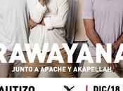 Rawayana lanza disco 'Trippy Caribbean' concierto avenida Francisco Miranda