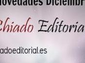 Novedades Diciembre Chiado Editorial