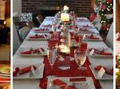 Ideas decoración para mesas navideñas