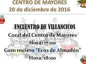 Encuentro Villancicos Centro Mayores Almadén