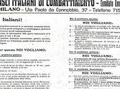 fascios italianos combate programa santo sepulcro